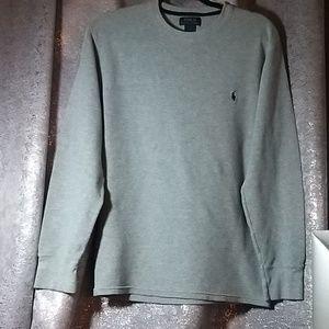 Polo Ralph Lauren Gray Pima Cotton sweater